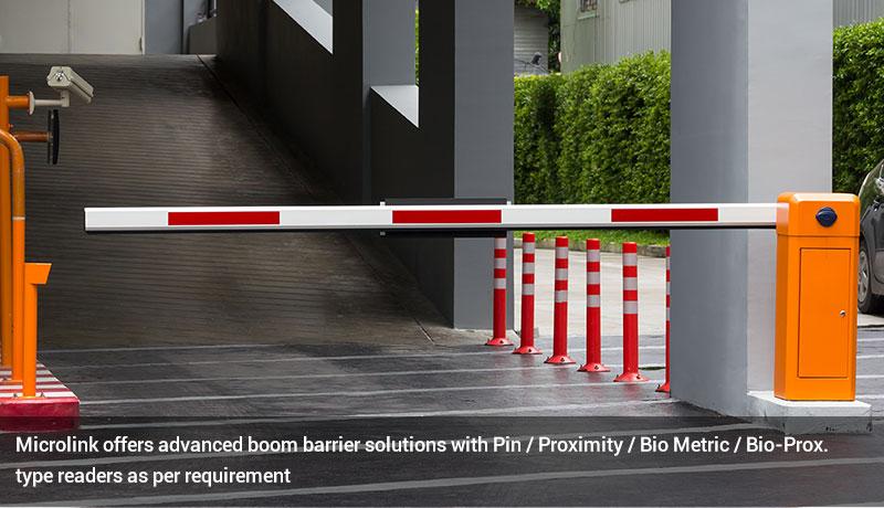 Boom barrier & Parking management System
